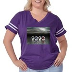 2020 Women's Plus Size Football T-Shirt