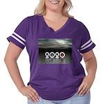 2020 Women's Plus Size Football T-Shirt