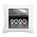 2020 Square Canvas Pillow