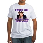 Uncle Sam Keep And Bear Arms Fitted T-Shirt