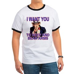 Uncle Sam Keep And Bear Arms T