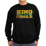 King of the Jungle BJJ Sweatshirt (dark)