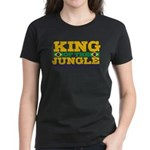 King of the Jungle BJJ Women's Dark T-Shirt