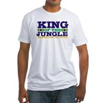 King of the Jungle BJJ Fitted T-Shirt