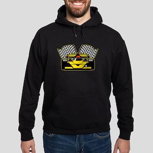 YELLOW RACECAR Hoodie (dark)