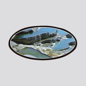 pockets of water land formations Patch