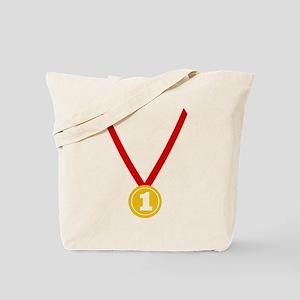 Gold Medal - Winner Tote Bag