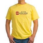 Stop LIne Yellow T-Shirt