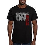Engine On Jiu Jitsu Men's Fitted T-Shirt (dark)