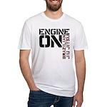 Engine On Jiu Jitsu Fitted T-Shirt