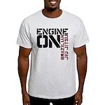 Engine On Jiu Jitsu Light T-Shirt