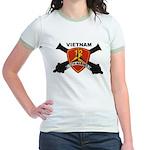 12TH MARINES-VIETNAM Jr. Ringer T-Shirt
