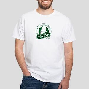 Maine White T-Shirt