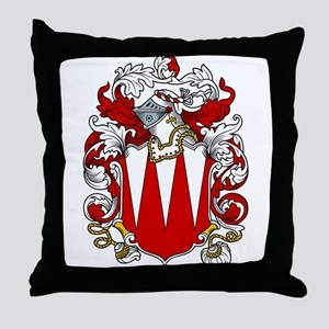 Baylor Coat of Arms Throw Pillow
