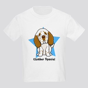 Star Kawaii Clumber Spaniel Kids Light T-Shirt