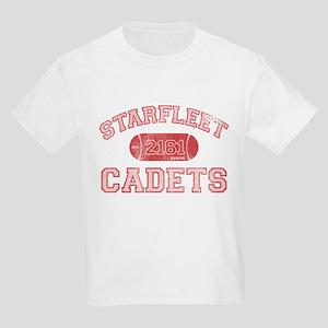 Pink STARFLEET Cadet Athletics Kids Light T-Shirt