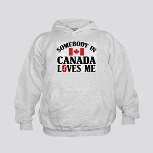 Somebody In Canada Kids Hoodie