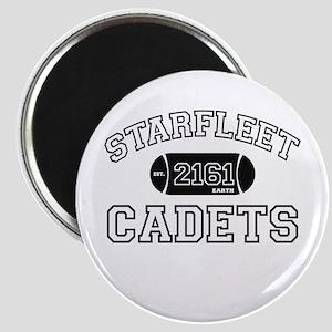 Blk STARFLEET Cadet Athletics Magnet