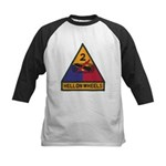 2ND ARMORED DIVISION Kids Baseball Jersey