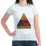 2ND ARMORED DIVISION Jr. Ringer T-Shirt