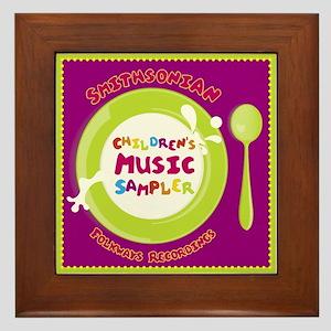 Children's Music Framed Tile