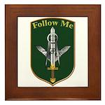 Army Infantry Framed Tile