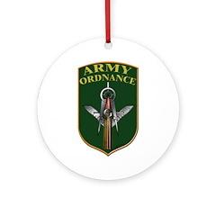 Army Ordnance Mason Ornament (Round)