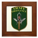 Army Ordnance Mason Framed Tile