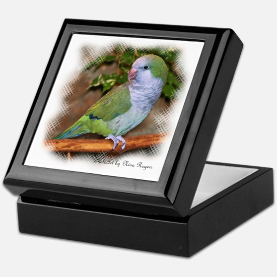 Quaker Parrot Keepsake Box