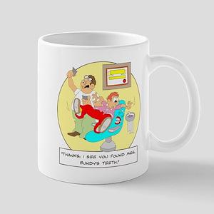 ... Mrs. Bundy's teeth. Mug