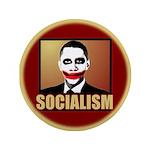"""Socialism Joker 3.5"""" Button"""