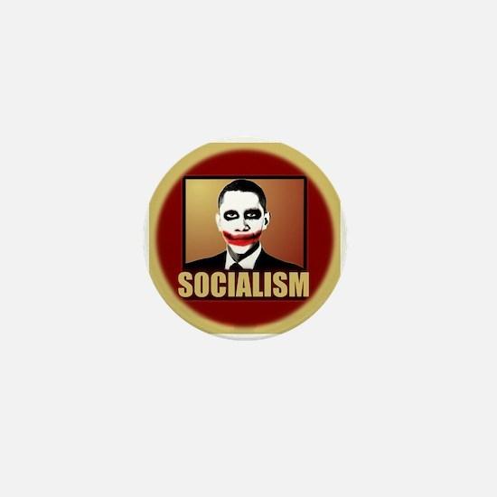 Socialism Joker Mini Button