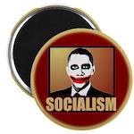 """Socialism Joker 2.25"""" Magnet (10 pack)"""