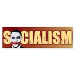 Socialism Joker Bumper Sticker (10 pk)