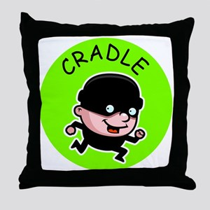 Cradle Robber Throw Pillow