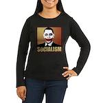 Socialism Joker Women's Long Sleeve Dark T-Shirt