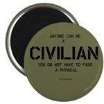 Anyone can be a civilian...