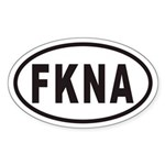 FKNA Euro Oval Sticker