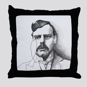 G.K. Chesterton Throw Pillow