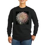 Long Sleeve Dark T-Shirt - fireworks