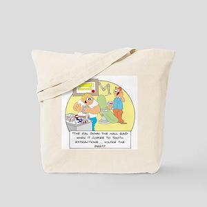The girl down the hall said . Tote Bag