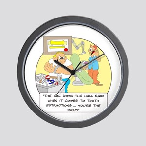 The girl down the hall said . Wall Clock