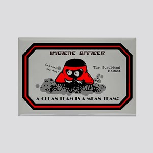 Hygiene Officer (R) Rectangle Magnet