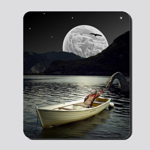 Loch Ness Collage Mousepad