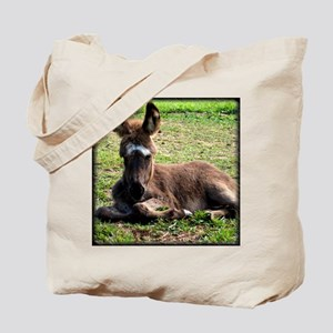 Sleepy Donkey Baby Tote Bag