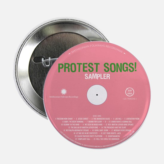 "Protest Songs 2.25"" Button"