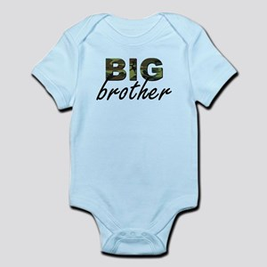 Big brother camo Infant Bodysuit