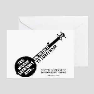 Pete Seeger Greeting Card