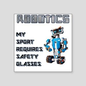 Robotics Safety Sticker