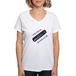 Women's V-Neck T-Shirt - Universal Translator